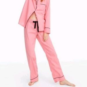 J Crew Pink Cotton Pajama Pants XS